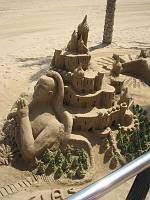 More sand sculptures